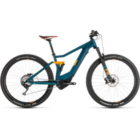Cube Stereo Hybrid 120 HPC SL 500 KIOX E-MTB Full Suspension blue